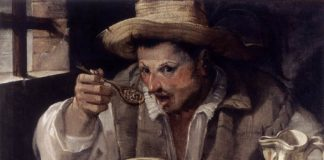 Mangiafagioli, dipinto di Annibale Carracci