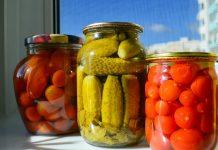 come conservare pomodori, cetrioli, peperoni