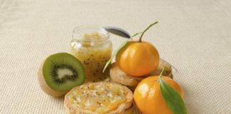 Marmellata kiwi e mandarini