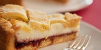 La torta di Suor Rosalia visciole e ricotta