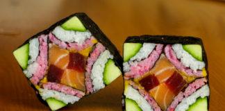Sushi creativo arte