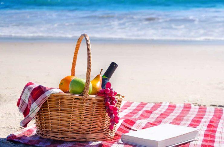 Cibo da spiaggia - i 5 piatti più freschi