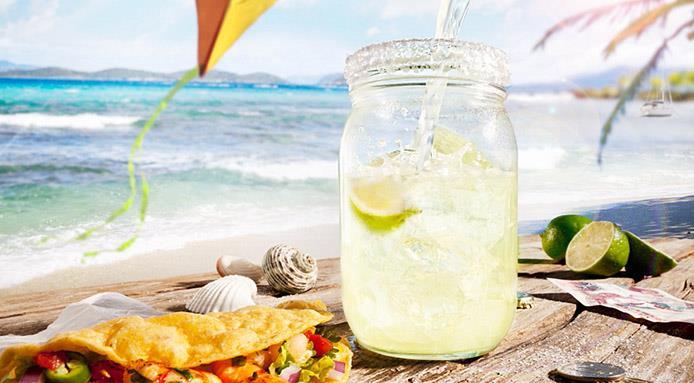 cibo da spiaggia