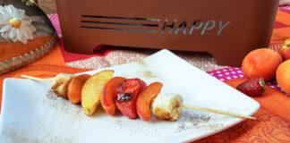 Grigliata di frutta, una ricetta che vi sorprenderà