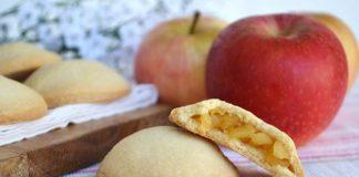 pasticcini con cuore di mela