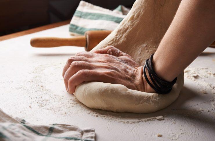 impasto per pizzza senza lievito