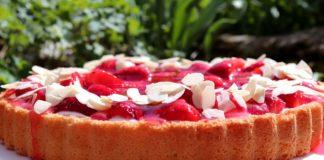 torta fresca alle fragole