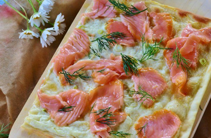 Focaccia alsaziana al salmone