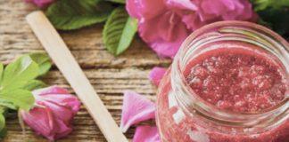 marmellata ai petali di rose