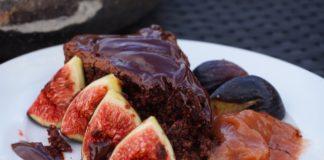 Torta fichi e cioccolato