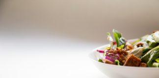insalata di farro e filetti di cernia