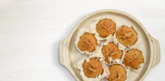 muffin salati con speck e caciocavallo
