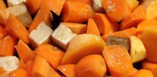 tofu carote e zucchine