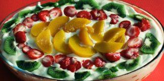 tiramisù alla frutta