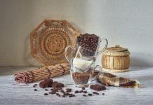 coppa di cioccolato e crema cappuccino