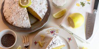 torta bianca al limone