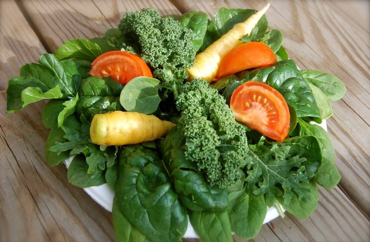 carote e spinaci