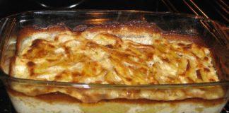 Patate al forno al gorgonzola