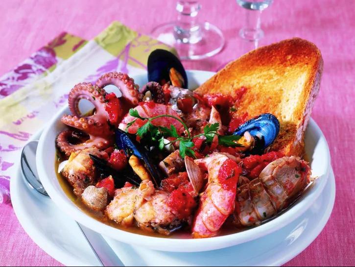 Zuppa di pesce Civitavecchiese