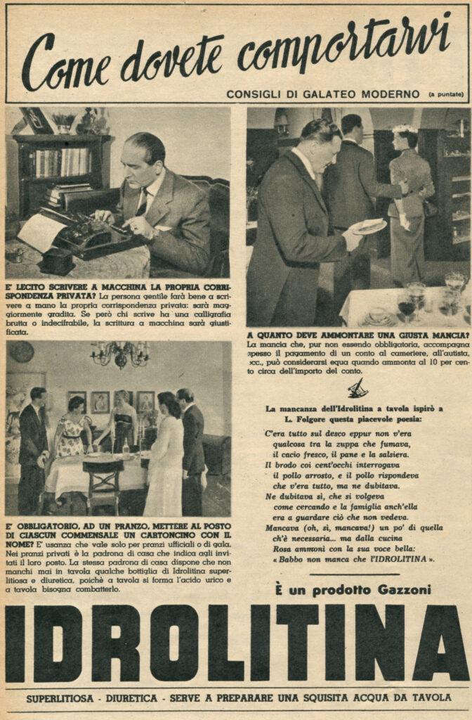 1953 - IDROLITINA - GALATEO 01