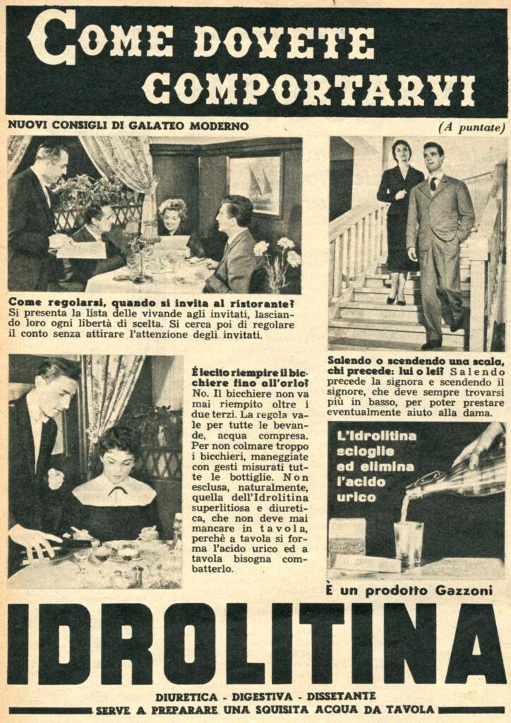 1953 - IDROLITINA - GALATEO 04