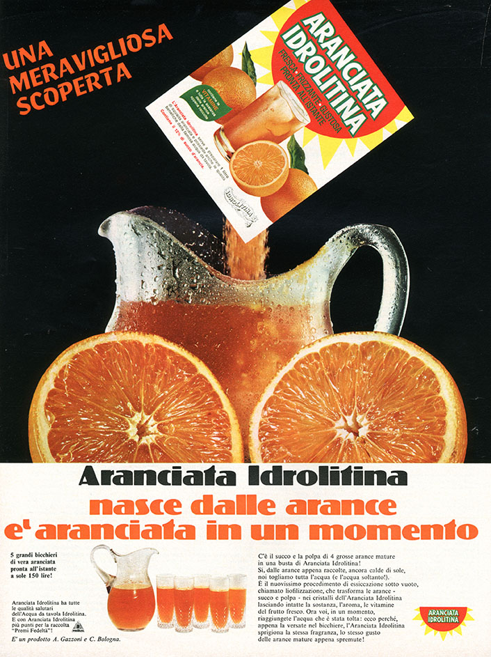 1967 - IDROLITINA aranciata