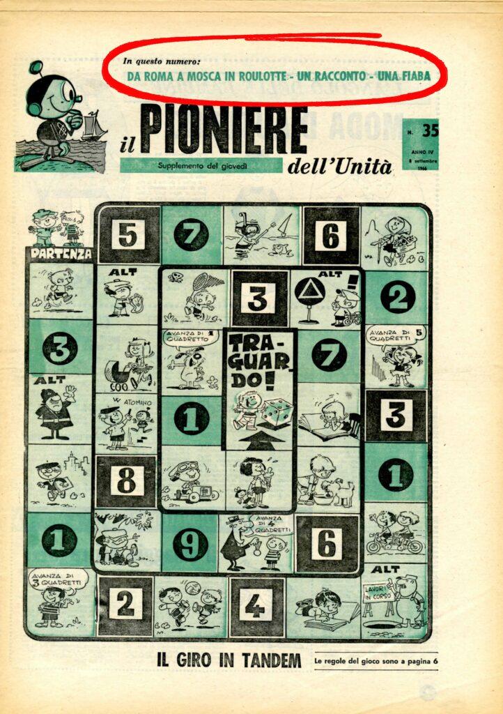 IL PIONIERE copertina