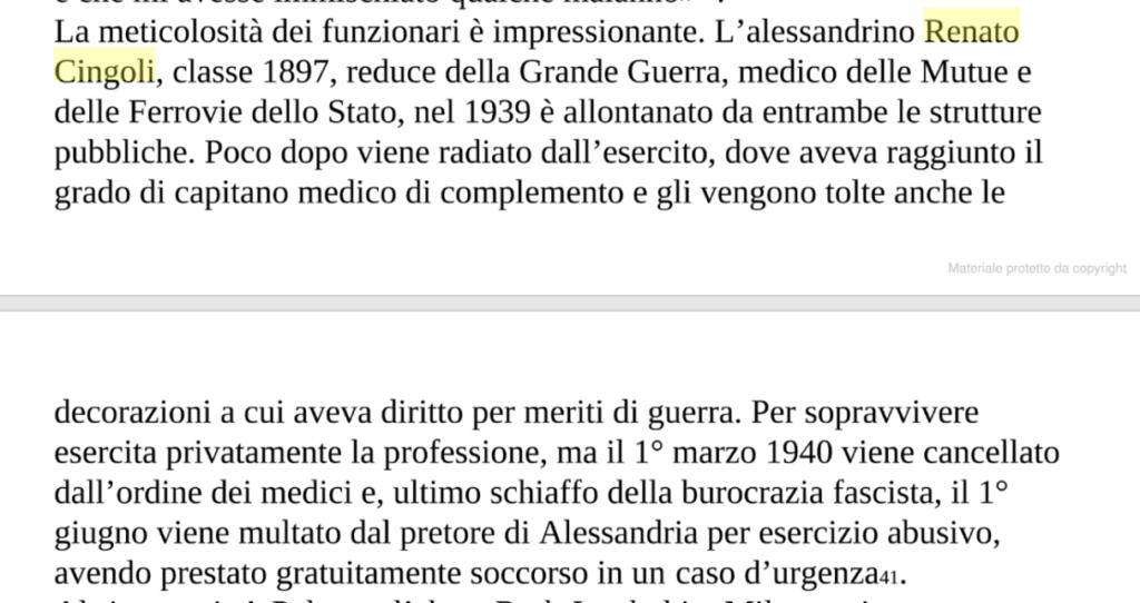 estratto libro Di pura razza italiana