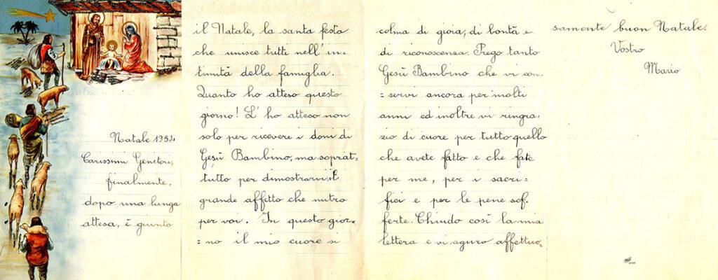 1954 - La letterina di Mario