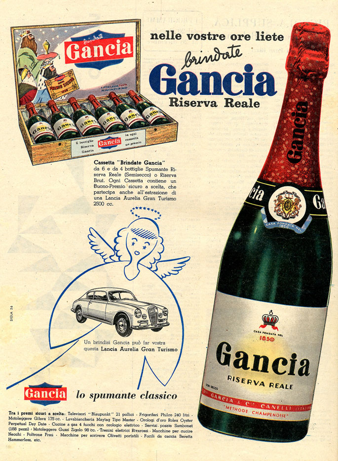 1956 -  Gancia