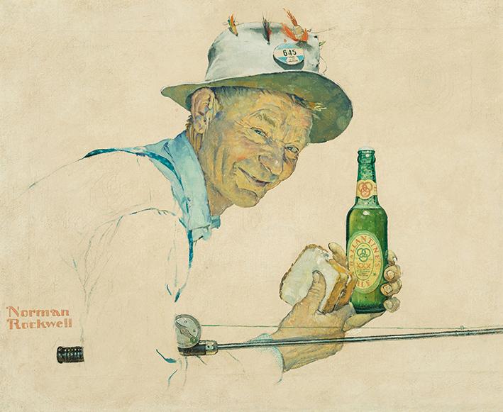 1950-ca Ballantines Ale