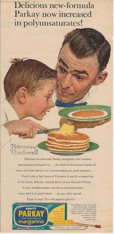 1964 Kraft Parkay margarine