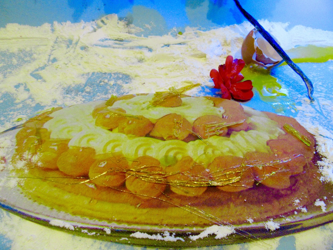 Ricetta Torta Saint Honoré