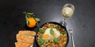 Filippo Panseca uovo con fave