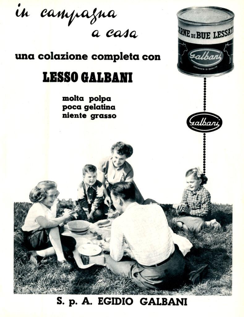 1958-LESSO GALBANI