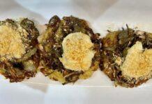 Rosti di carciofi e patate